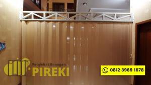 Pintu Lipat Pvc Surabaya