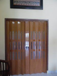 Jual Pintu lipat PVC Murah Surabaya